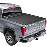 Roll N Lock M-Series Retractable Truck Bed Tonneau Cover | LG223M | Fits 2019 - 2020 Chevy/GMC Silverado/Sierra, works w/ MultiPro/Flex tailgate (w/o Carbon Pro Bed) 5' 10' Bed (69.9')