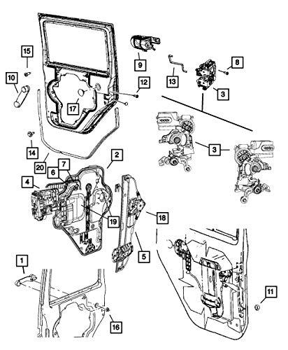 Mopar 6801 4953AA, Power Window Motor