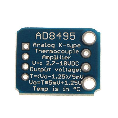 2x Thermische K Typ Thermoelement Verstärker Analogausgangsmodul