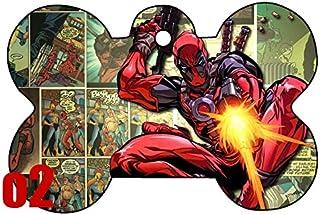 Deadpool Comic Shape Image PhotoPersonalized
