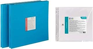 Artemio Album Photo 31 x 35 cm & VIAP01 10 Pochettes en Plastique vides pour abum Photo pour Scrapbooking 30.5cm x 30.5cm-...