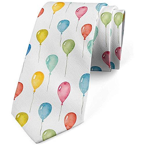 Mathillda stropdas kleurrijke ballonnen, avondgarderobe, perfecte meerkleurige geschenken voor mode-stropdas