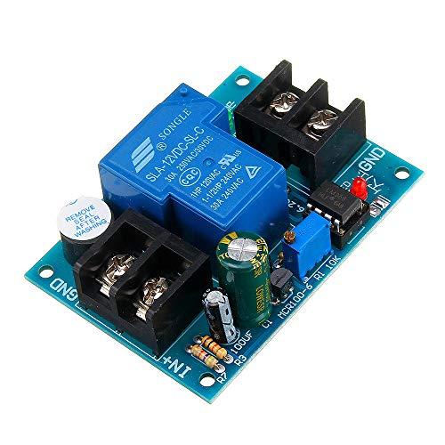 LKK-KK Controlador Anti-Descarga de batería de 12V Universal con retardo Protección contra subvoltaje de bajo Voltaje Anti-sobre-Descarga 1