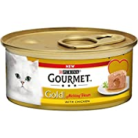Made with tender pieces with Chicken Complete pet food for adult cats 100% complete and balanced nutritional pet food for adult cats (aged 1 to 7) Cooked with care for preservation of taste Served in 85g can to keep every meal fresh and convenient. P...