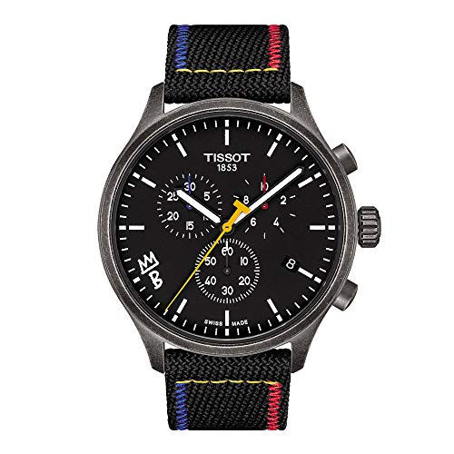 Tissot mens Tissot Chrono XL 316L stainless steel case with...