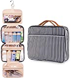uideazone Large Hanging Toiletry Wash Bag Makeup Cosmetic Organizer for Women Girls Kids