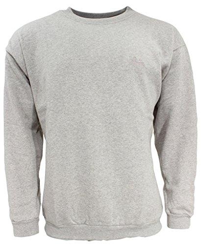 wind sportswear Herren Sweatshirt Größe M Grau (grau)