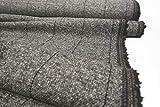mollipolli-Stoffe Tweed Alessio grau Made in Italy 0,5 m