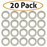 20-Pack of Motorcycle Drain Plug Sealing Washers - Crush Gaskets - Compatible with DPWM14.223-10 - Compatible with Most Models – By Mission Automotive