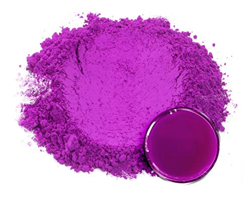 Eye Candy Mica Powder - Neon Pigment - Colorant for Epoxy - Resin - Woodworking - Soap Molds - Candle Making - Slime - Bath Bombs - Nail Polish - Cosmetic Grade - Non-Toxic (Proton Purple, 50 Grams)