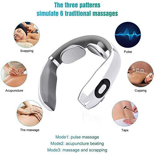 Massaggiatore cervicale, massaggiatore a spalla, massaggiatore elettrico per collo, velocità muscolare alleviamento del dolore