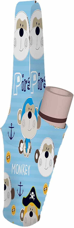 SSOIU Pirate Monkeys Yoga Mat nautica Fees free cute Bag Max 43% OFF chimpanzee monkey