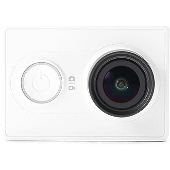 XiaoMi Yi アクションカメラ 軽量 XiaoYi スポーツ カメラ 16MP H.264 Xiaomi Camera HD 1080P 155度 超広角 小型 Action Camera スマホ用 ホワイト [並行輸入品]