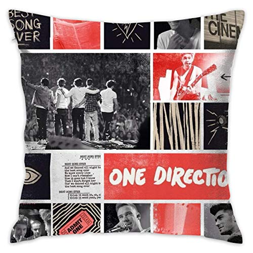 Without One Direction Best Song Ever Decorative Reading Pillow Covers Case Pillowcases Fundas para Almohada (50cmx50cm)