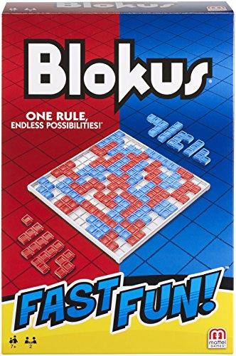 Fast Fun Blokus van Mattel Games | Strategisch spel | Versie voor 2 personen | Vanaf 7 jaar | Speelduur ca. 30 minuten