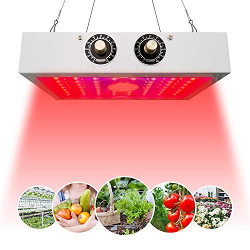 GALOOK LED Cultivo Interior Crecimiento y Floración 1200W Lámpara de Plantas de Espectro Completo Crece IA Luz de Planta para Interior Invernadero Hidropónico Vegetal Flores Germinación Floración