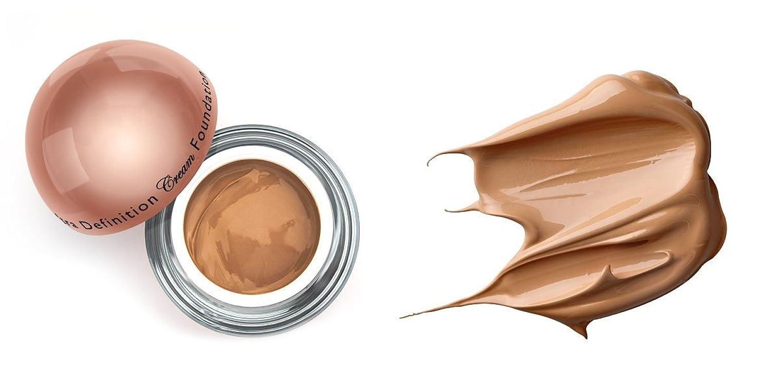 製油所ビジュアル掃除LA Splash (無料なめらかな顔のシートマスク付き)LA-スプラッシュウルトラ定義されたクリームファンデーション ヘーゼルナッツ/ 1オンス(20206)
