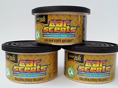 Car Scents California Sents Golden State Delight Lufterfrischer 3er Sparpack - Set