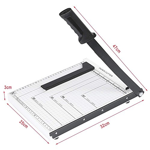 A4 B5 A5 B6 B7 Heavy Duty Paper Cutter Guillotine Photo Trimmer Cutter Craft for Home and Office