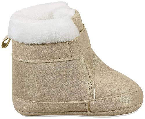 Sterntaler Mädchen Baby Stiefel mit Klettverschluss, Farbe: Ecru, Größe: 19/20, Alter: 12-18 Monate, Artikel-Nr.: 5301808
