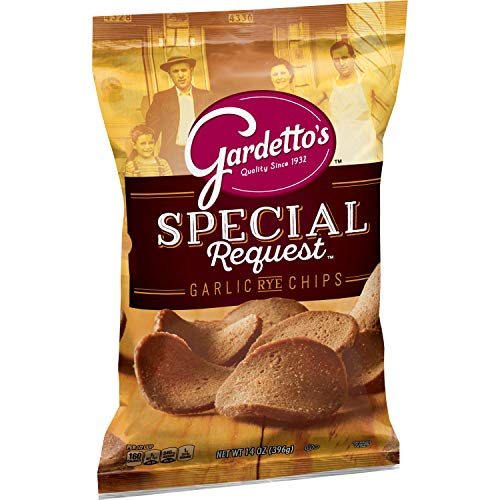 Gardetto's Special Request Roasted Garlic Rye Chips 14 oz. Bag
