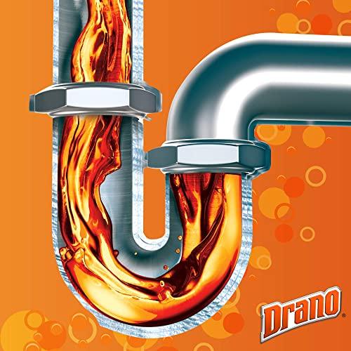 Mr Muscle Flüssiger Rohr-Reiniger, Für alle Rohrarten gegen starke Rohr-Verstopfungen, 1000 ml, Mr Muscle Drano Max Power-Gel Rohrfrei - 6