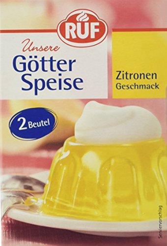 Ruf Götterspeise Zitrone zum Kochen, 14er Pack (14 x 1000 ml Packung)