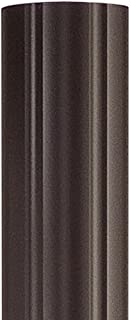 Quoizel PO9130IB Outdoor Lighting Fluted Post Mount with Imperial Bronze Finish