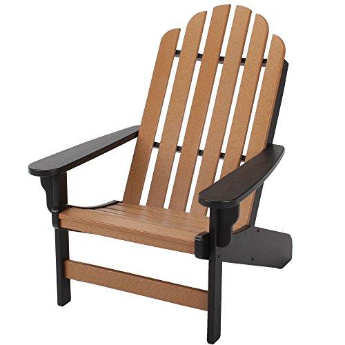 Brilliant Pawleys Island Essentials Durawood Adirondack Chair Black Gamerscity Chair Design For Home Gamerscityorg