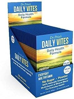 Sponsored Ad - Daily Vites Multi-Vitamin Drink Mix + Minerals, B Complex, Biotin, Vitamin C & D, Calcium, Magnesium, B12 |...