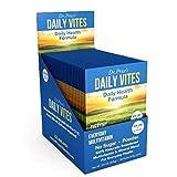Daily Vites Multi-Vitamin Drink Mix + Minerals, B Complex, Biotin, Vitamin C & D, Calcium, Magnesium, B12   New 30 Powder Packets Men and Woman's   Dr. Price's Vitamins   No Sugar Non-GMO Gluten Free