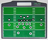 Pro-Tuff Decals Coaches Helper Magnetic Football Board for Plays and Field Position Football Magnet Board Football Play Board