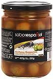 Gourmet SaborEspañol - Aceitunas Gazpachas - verdes manzanilla con hueso extra - 250 g