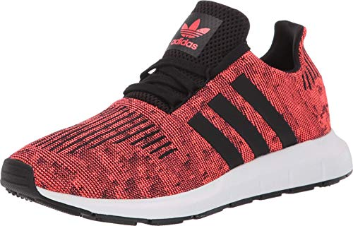 adidas Originals Mens Swift Run Running Shoes Color Solar Red/Black/White Size 11.5