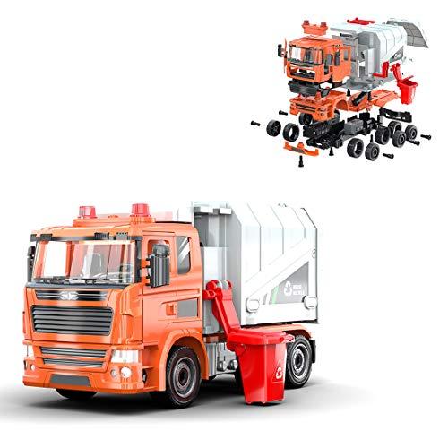FADY Technik City - Juego de recogida de basura, juguete de construcción compatible con Lego Technic, 109 piezas