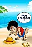 OKIWOKI Riesen-Poster HD (122 x 91 cm) One Piece und Herr