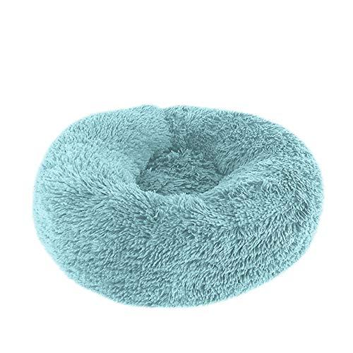 XYBB Huisdierbed Pet House Comfortabele hondenmat, zacht warm rond hondenbed, warm nest, gemakkelijk te reinigen huisdier, 26*100cm, M.