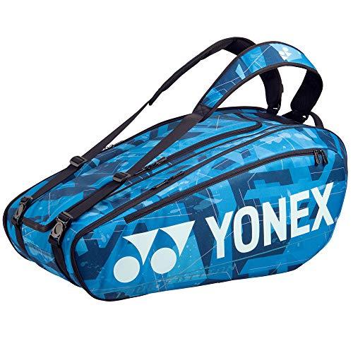 YONEX Pro BA92029EX - Bolsa para raquetas, 9 unidades, color azul y negro