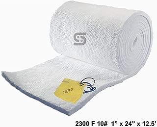 Ceramic Fiber Blanket 10# Density, 2300F (1