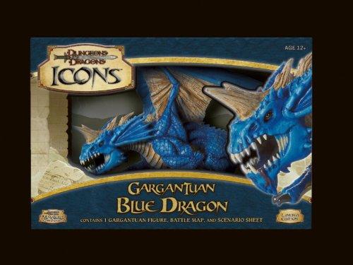 Gargantuan Blue Dragon