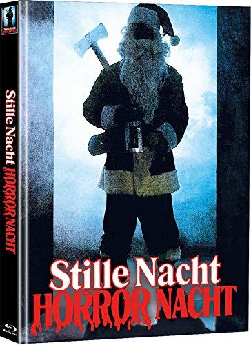 Stille Nacht - Horror Nacht - Mediabook - Limited Edition auf 111 Stück (+ Bonus-DVD mit weiterem Horrorfilm) [Blu-ray]