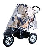 Baby-Walz - Parapioggia universale per passeggino con schermo di sicurezza