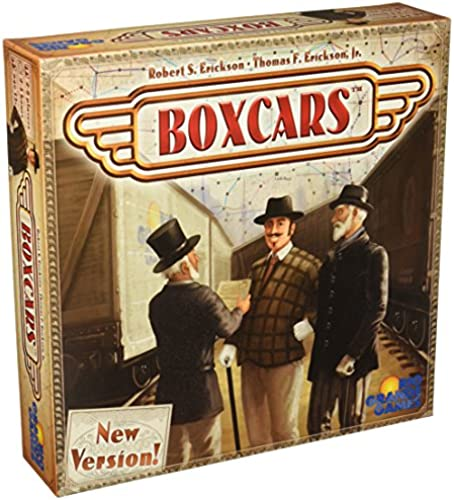 Boxcars Board Game by Rio Gründe Games