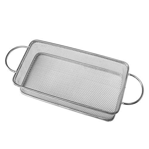 HUVE Cocina Colador De Acero Inoxidable Colador – Mejores Alimentos Colador, Micro...
