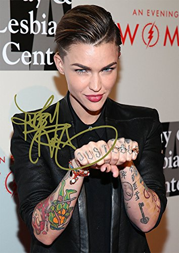 Ruby Rose Print Stunning Beautiful Tattoo Actress Model (11.7' X 8.3')