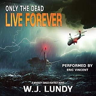 Only the Dead Live Forever audiobook cover art