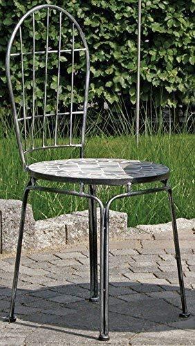 Linoows tuinstoel Rijeka, mozaïekmeubel in mediterraan-stijl, stoel