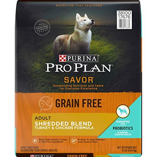 Purina Pro Plan SAVOR Grain-Free Shredded Blend Formula Adult Dry Dog Food