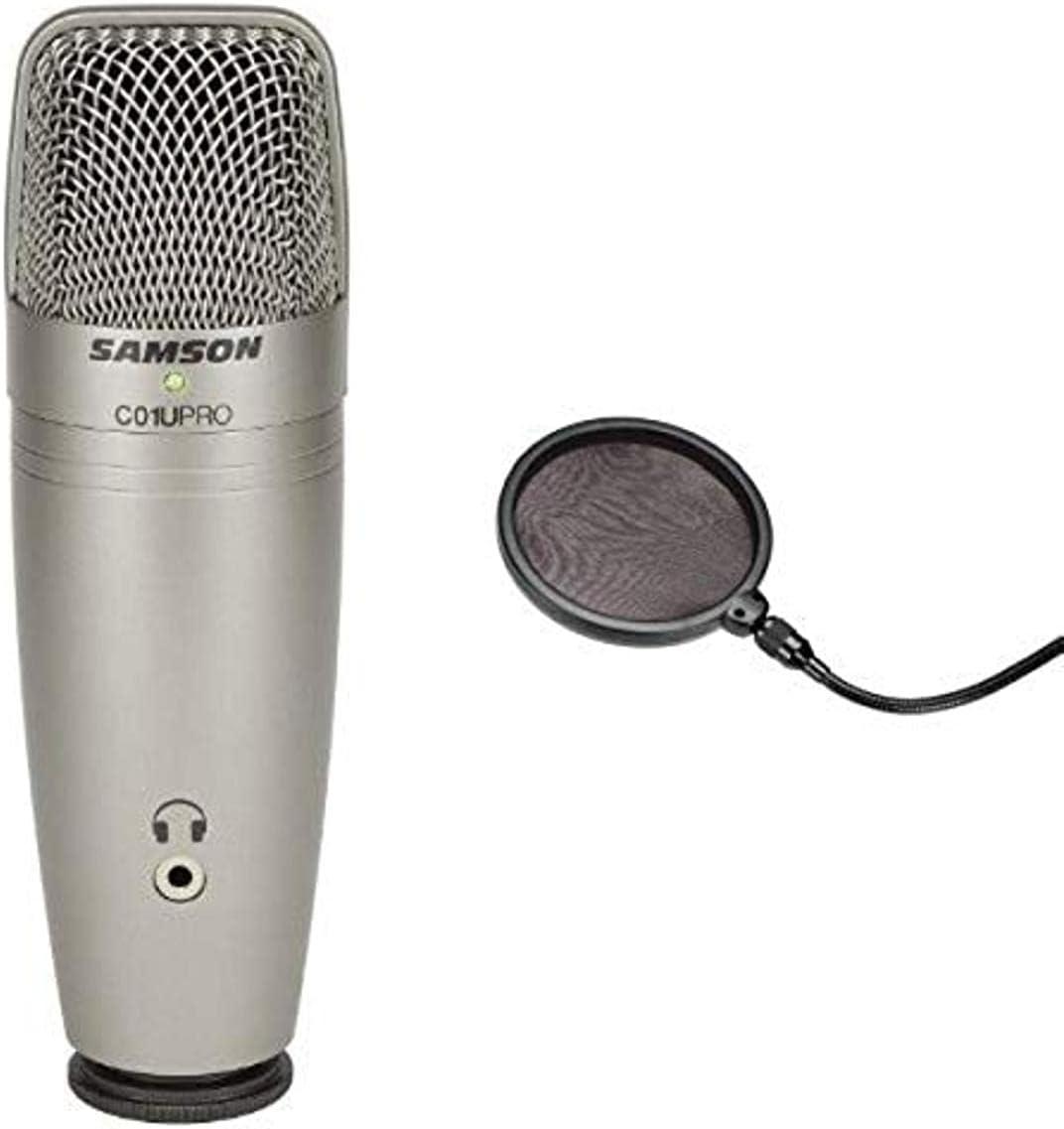 Samson Limited time sale C01UPRO USB-Mikrofon + PS 01 professioneller low-pricing F Pop