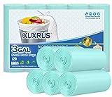 XUXRUS Biodegradabili Sacchetti per immondizia 15 Litri,100 Sacchetti Sacchetti di Rifiuti...